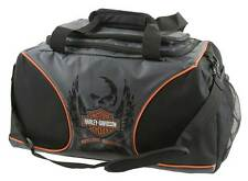 Harley-Davidson Deluxe Embroidered Bar & Shield Duffel Bag, Black 7189519