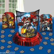 TRANSFORMERS TABLE DECORATING KIT (23pc) ~ Birthday Party Supplies Confetti