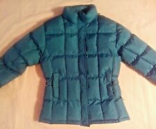 Women's Small, Polyester Filled, Puffer, Quilted Winter Coat/Jacket (Teal)