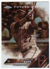 2016 Topps Chrome Baseball Sepia Refractor #65 Jung Ho Kang Pirates