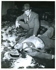 "Robert Stack The Untouchables Original 8x10"" Photo L4492"