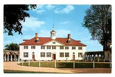 West Front Mount Vernon Postcard Virginia Mansion George Washington Unposted