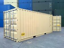 Double Door NEW BUILD 20ft High Cube Shipping Container Ex Brisbane