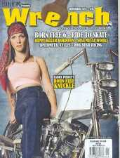 (NEW) BIKER PRESENTS WRENCH MOTORCYCLE MAGAZINE NOVEMBER 2014 #9