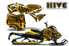 SKI-DOO REV XM SUMMIT SNOWMOBILE SLED CREATORX GRAPHICS KIT WRAP HIVE YELLOW