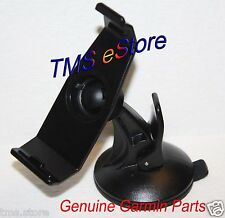 OEM Genuine Garmin Zumo 220, Nuvi 500 550 GPS Suction Cup Mount & Cradle Bracket
