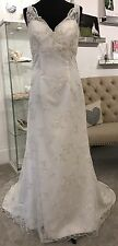 Decorum Wedding Dress 'Valencia' size 14/16