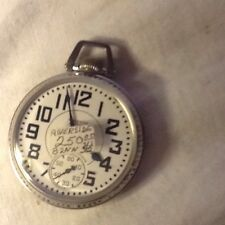 Antique Waltham Pocket Watch Riverside 21J