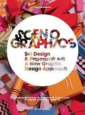 WANG SHAOQIANG-SCENOGRAPHICS:HANDMADE & 3D GRAPH  BOOK NEW