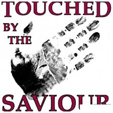 T4 Touched by the saviour  nine (9)  transfers  Heat press MUST