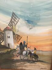 Don Quixote Oil Painting by Carlos Derriver (1939)