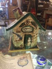 Blue Sky Clayworks Limited Edition Dragonflys Meadow Tea Lite Tree House (A)