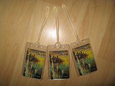 Delta Airlines Luggage Tags - Statue Of Liberty NYC Old Playing Card Name Tag 3