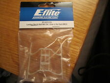 E-FLITE LANDING SKID AND BATTERY MOUNT SET, GLOW IN THE DARK : BMCX EFLH2222GL