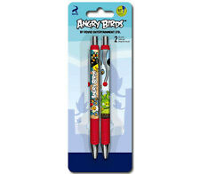 Angry Birds Gel Pen 2 Pack Set School Writing Gift Official Licensed NEW