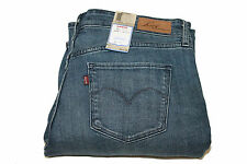 Womens Levi's Mid Rise 587200002 Rock n Roll Blue Skinny Boot Jeans Sz 14/31 NWT