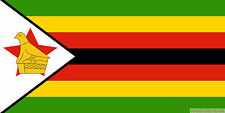 """ZIMBABWE 18"""" x 12"""" FLAG suitable for Boats Caravans Treehouses flags"""