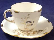 Royal Crown Derby DEVONSHIRE Flat Cup and Saucer Set GREAT CONDITION