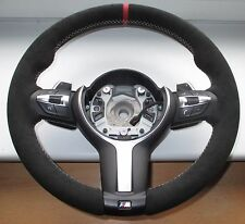 BMW F20 F21 F22 F30 M steering wheel Performance Alcantara  Lenkrad Paddle shift