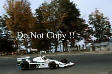 Alan Jones Williams FW06 USA Grand Prix East Watkins Glen 1978 Photograph 1