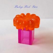NEW Lego Minifig Pink PERFUME BOTTLE Powder Box - Container w/Flower Female Girl