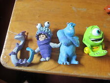 Disney 3 inch PVC Monsters Inc Boo in Costume Mike Randall Sulley NICE