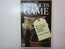 FIRST EDITION SIGNED -The antiques game: An insider's tips how to play it & win