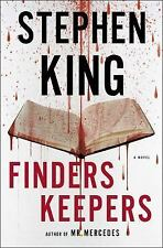 Finders Keepers by Stephen King (2015) A Novel