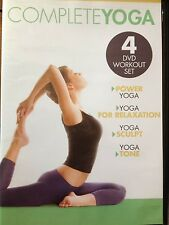 COMPLETE YOGA (DVD SET) 4 workouts Power Yoga Sculpt Tone & for Relaxation