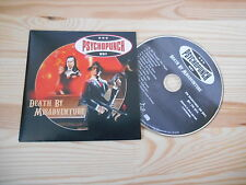 CD Punk Psychopunch - Death My Misadventure (12 Song) Promo SILVERDUST