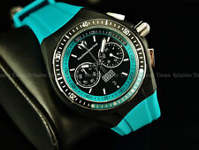TechnoMarine Men's 40mm Cruise Arctic Blue Sport Chrono Silicone Strap Watch