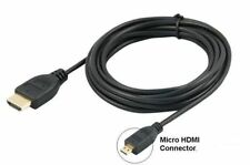 Premium Micro Hdmi to HDMI Cable 1m for Kindle/ HUDL/ HUDL 2/ Samsung to TV HDTV