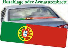 Portugal Ablagenmatte Auto Caravan Truck Fußballfan Heckablage Armaturenablage