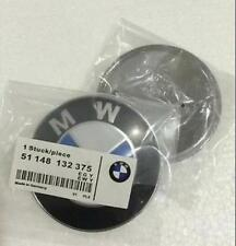 High Quality BMW E46 3 SERIES FRONT TRUNK EMBLEM 82MM LOGO BADGE 2 PIN