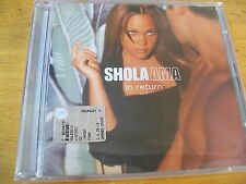 SHOLA AMA IN RETURN CD SIGILLATO
