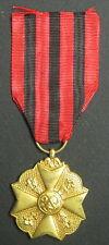 BELGIQUE - Médaille du Mérite Civique Classe Or