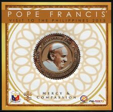 Philippinen Philippines 2015 Papst Franziskus Pope Francis Besuch Visit ** MNH