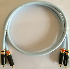 Supra EFF-ISL High End Audiophile Interconnect Audio cable 2x2m-Original 5✭✭✭✭✭