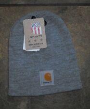 CARHARTT ~ GRAY ~ CAP HAT STOCKING  BEANIE~ NEW