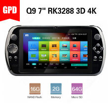 "GPD Q9 Android 7"" Quad Core Game Console RK3288 Hi-Fi Gamepad Player 4K 2GB/16GB"