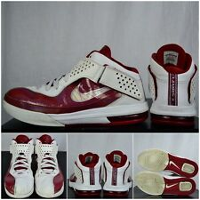 """2011' Nike Air Max LeBron """"Pearl-Red/White"""" Soldier 5's, Sz 13 Supreme"""