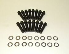 Ford Torino 429 - 460 Stock Exhaust Manifold Bolts 12 Point Black Oxide  NEW