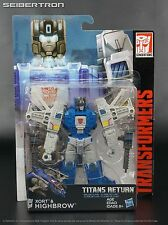 HIGHBROW + XORT Transformers Titans Return Generations Deluxe Hasbro New