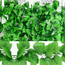 82 Feet Artificial Grape Vine Faux Ivy Leaf Garland Plants Fake Foliage Home DIY