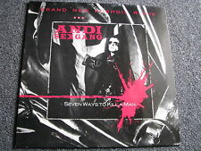 Andi sex Gang-seven ways to kill a man-Brand New rushdie remix 12 pouces MAXI LP