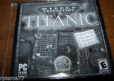 Big Fish Games - HIDDEN EXPEDITION - TITANIC - 2004 - Rated E - EUC!