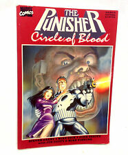 Marvel Comics PUNISHER Circle of Blood Graphic Novel Early Version, daredevil