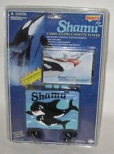 Vintage Sealed SHAMU Carry-A-Long Cassette Player w/Tape,Headphones Walkman-Like