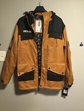GRENADE GLOVES MENS M65 HOODED SNOWBOARD SKI SNOW JACKET CAMEL MEDIUM MED M