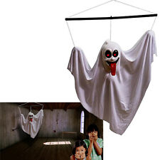 Dazzling Toys Floating Hanging White Shaking Ghost With Sounds and Flashing Eyes
